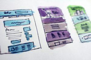 Maquettes fonctionnelles de pages web
