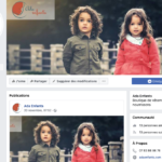 Facebook ada enfants